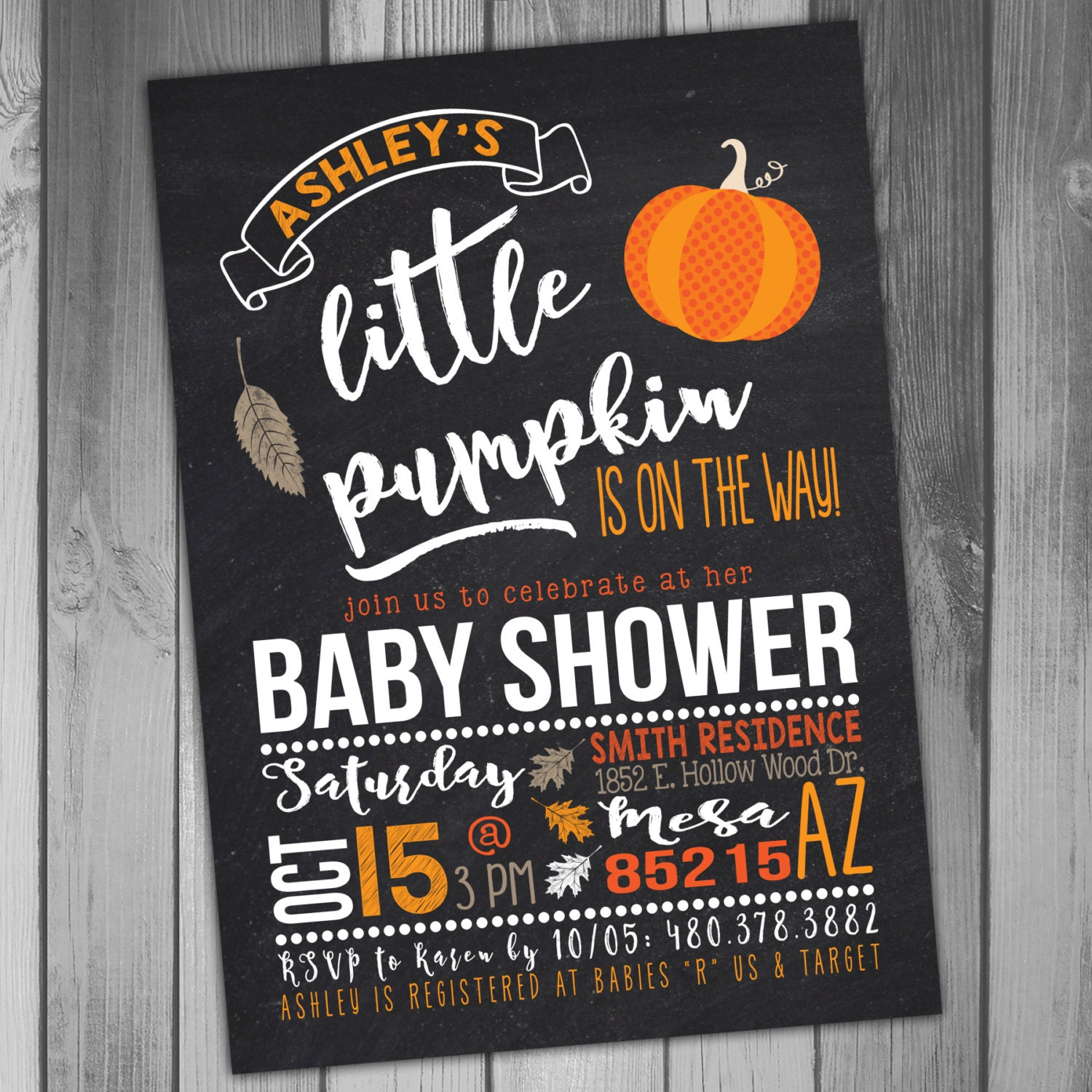 little pumpkin baby shower invitations halloween baby shower