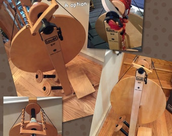 Louet S17  In Stock Spinning wheel unfinished  kit ready to drop ship today  :saorisantacruz