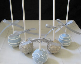 Wedding Favors: Premium Wedding Cake Pops, Dessert Table, Candy Station, Wedding Favors, 1 dozen