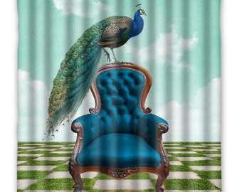 Peacock home decor Etsy