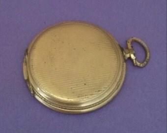 Watch repair Pocket watch case Vintage Steampunk Art deco Craft supplies M1602