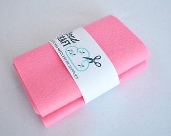 100% Wool Felt Roll - 12x90cm - Bonbon