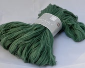 Yarn, 100% Fine Merino Wool, Lace Weight, 1375 yards, Green