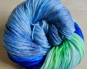 Chelsea Sock Yarn - Vote For Me - (MCN: 80/10/10 Merino/CashmereNylon) - Sock Weight - 435yds/100g
