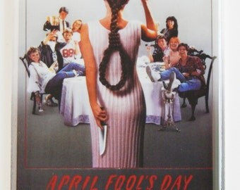 April Fool's Day Movie Poster Fridge Magnet