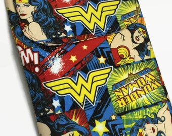 iPad Mini WONDER WOMAN Kindle Case, Kindle Paperwhite, Nook, Nexus 7, Kobo Cover, Kindle Fire, Kindle hd 7