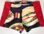 burger shorts