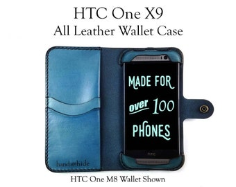 HTC One X9 Leather Wallet Case, HTC One X9 case, htc one X9 wallet, htc one x9 leather case, custom htc one x9 case