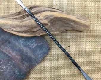 Hand Wrought Steel Sculpting Tool