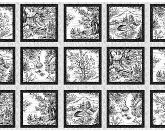 Blank Quilting - Woodland Forest - Panel