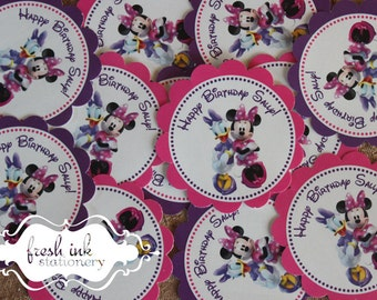 Minnie Mouse and Daisy Duck Stickers