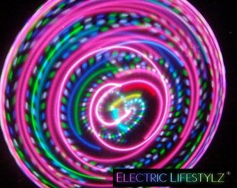 Seamless Connection - Hybrid LED Hula Hoop - Bahama Mama