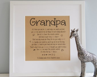 Grandad Print