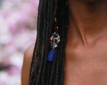 Jacob Lawrence African Opal, Peridot, & Coral Loc Jewelry