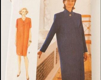90s Vintage VOGUE WOMAN 9091 PETITE Dress Pattern Sz 8