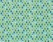 PRESALE - Slow and Steady - Track Flags in Blue Raspberry - Tula Pink for Free Spirit - PWTP090-BLU - 1/2 Yard