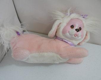 Vintage Puppy Surprise Pink Dog Stuffed Animal Toy Hasbro 1991 *NO PUPPIES*