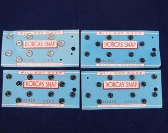 Dorcas Snaps - Lot of 4 Cards - Vintage