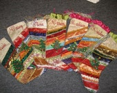 Christmas stocking made to order