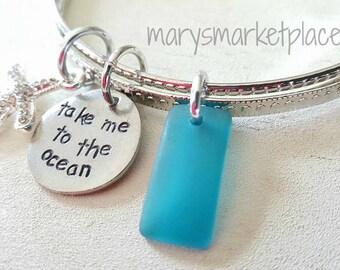Take me to the Ocean Bangle Bracelet Set
