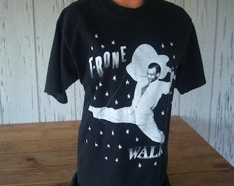 "Vintage ""T-Bone Walker"" T-Shirt, Blues Guitarist, Singer, Songwriter, 100% Cotton, Size Large, Made in USA, 1993, Unisex T-Shirt"
