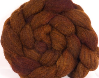 Grey Shetland hand painted top -Honeycomb  ( 5.3 oz. )