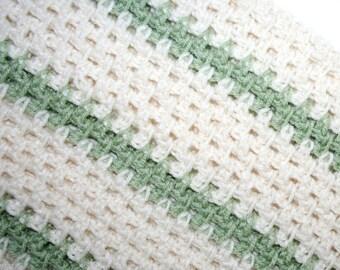 Crochet Blanket Pattern Lap Blanket Throw / Afghan Easy Fast Reversible Blanket Pattern - 3 Sizes PDF Instant Download by CzechBeaderyShop