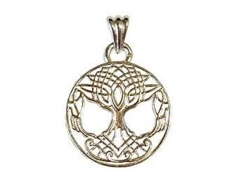 Tree of Life Pendant - Cosmic tree, Holy tree, Great tree, Celtic amulet, Tree symbol