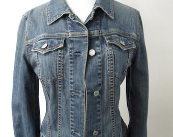 90s Gap Denim Jacket - Vintage Denim Jacket - Jean Jacket - SZ S