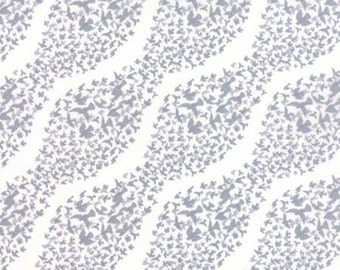 Canyon by Kate Spain for Moda - Geometric - Murmuration - Grey - Sand - FQ - Fat Quarter Cotton Quilt Fabric 516