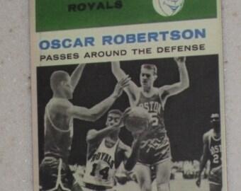 1961-62 fleer oscar robertson card #61
