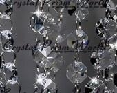 12 Ft Crystal Garland Wedding & Chandelier Chain Strands