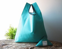 tote bag tiffany color / cotton market bag / light blue hand bag / unisex shopping bag / lunch bag for woman / baby shower gift