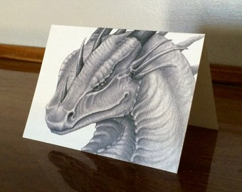 Devious Dragon Greeting Cards with Envelopes (set of six)