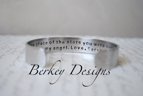 Secret Message Sister Cuff Bracelet