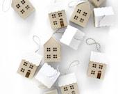 3D Paper House Christmas Decoration