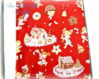 Angel Cakes Alexander Henry Fabric RED/Fabric SALE