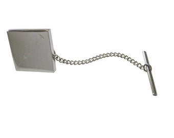 Engraved Medical Hypodermic Needle Tie Tack