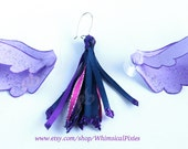 Twilight Sparkle Cochlear Implant Wings with matching ribbon 'tail' charm