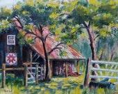 RESERVED FOR SUSAN - Barn Quilt - original oil painting