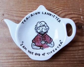 Tea-rion Lannister - Game of Thrones Tyrion Tea Bag Tidy