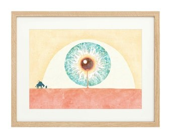 The Eye - Landscape with Pack Horse - Extra Large - Limited Edition Print