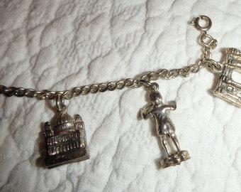 Old Charm Bracelet