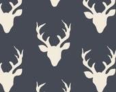 Buck Forest Twilight Knit , Hello Bear Knit Fabric , Art Gallery Knit Fabric