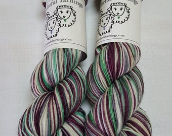 Saturated Sock Selfstriping  Summer Color