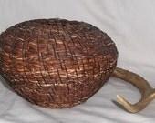 Vintage Native American Indian Basket, Southeastern Pine Needle (box 3)