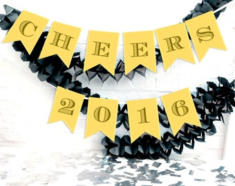 Personalised New Years Eve Party Bunting