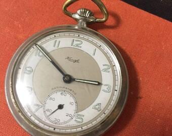 Vintage Kienzle Antimagnetic Pocket Watch Made In Germany