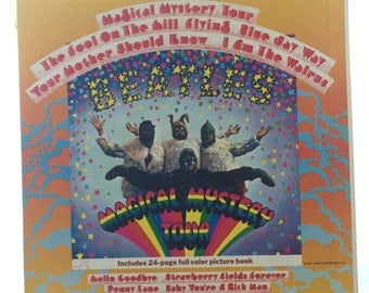 The Beatles Magical Mystery tour Record Album
