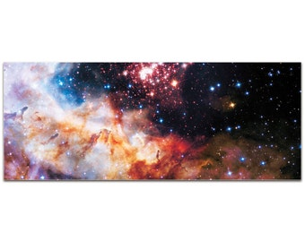 Celestial Fireworks | Reverse-Print Acrylic Outer Space NASA Art